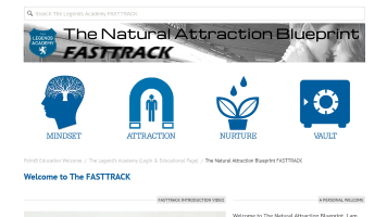 Natural Attraction Blueprint FastTrack Welcome