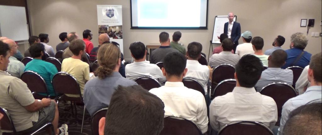Ben Alexander Dating Coach Presenting in Melbourne